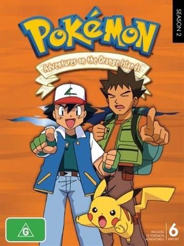 Pokemon: Season 2 - Adventures on the Orange Islands