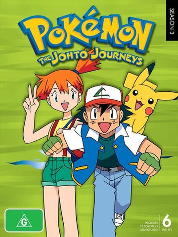 Pokemon: Season 3 - Johto Journeys