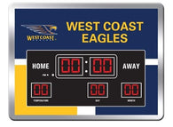 West Coast Eagles Scoreboard Clock