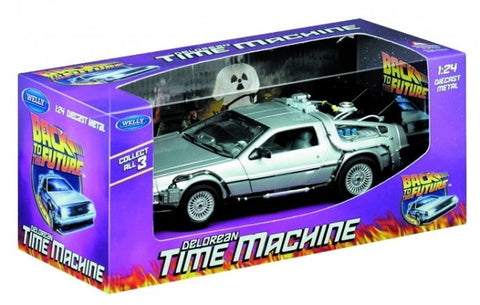 Back to the Future DeLorean 1:24 Scale Die Cast
