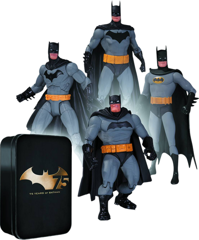 Batman - 75th Anniversary Action Figure 4-Pack Series 2