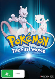 DVD Pokemon: Movie 1 - MewTwo Strikes Back