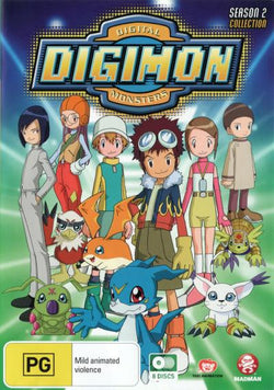 DVD Digimon: Digital Monsters Season 2 Episodes 1-50