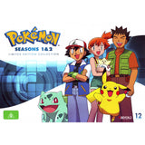 Pokemon: Seasons 1 - 2 Limited Edition Collection