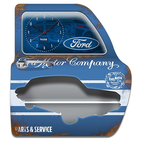 Ford Clock and Shelf