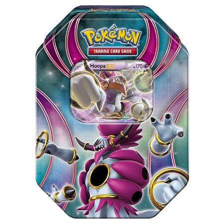 Pokemon TCG The Best Of EX Tins 2016 Hoopa