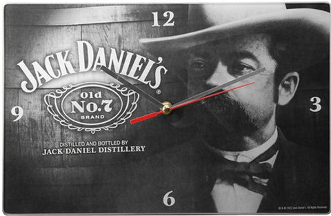 Jack Daniel's Glass Clock