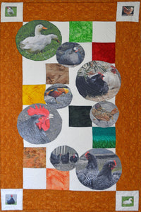 Poultry quilting kit