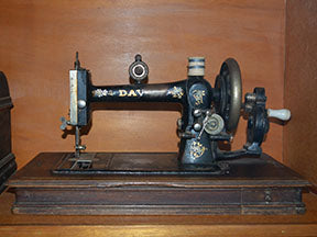 Davis sewing machine fabric panel