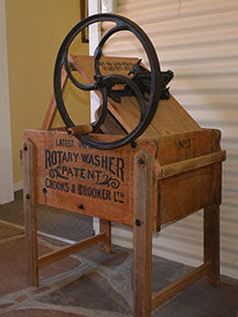 Crooks and Brooker Rotary Washer fabric Panel