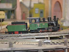 German Locomotive model train