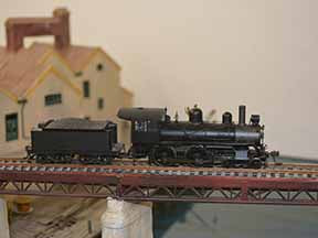 Bachmann locomotive model train