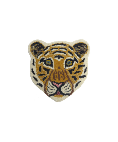 Doing Goods Cloudy Tiger Cub Rug Deko Teppich klein Kinderzimmer bei Yay Kids