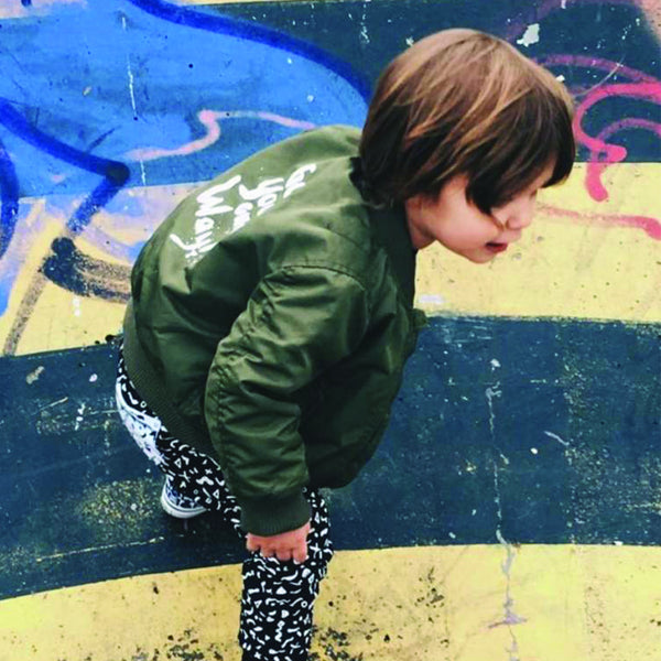 Ammehoela Kinder Bomber Jacke Olive Yay Kids Kind