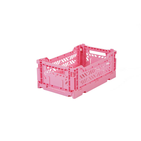 Ay-Kasa Faltkisten Folding Crate Baby Pink Mini bei Yay Kids
