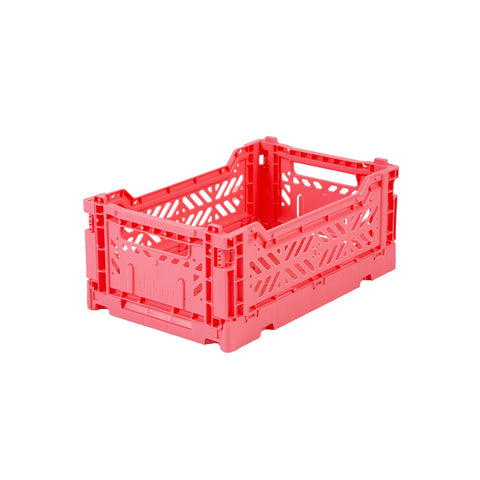 Ay-Kasa Faltkisten Folding Crate Dark Pink Mini bei Yay Kids