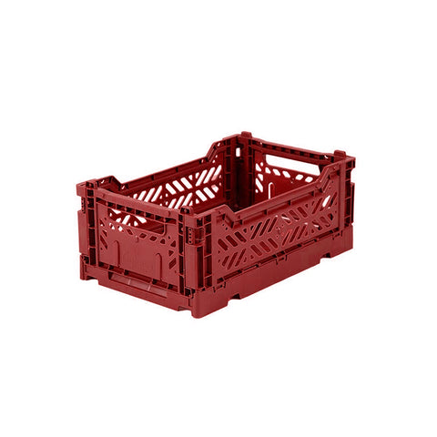 Ay-Kasa Faltkisten Folding Crate Tile Red Mini bei Yay Kids