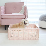 Folding Crate Warm Taupe Maxi