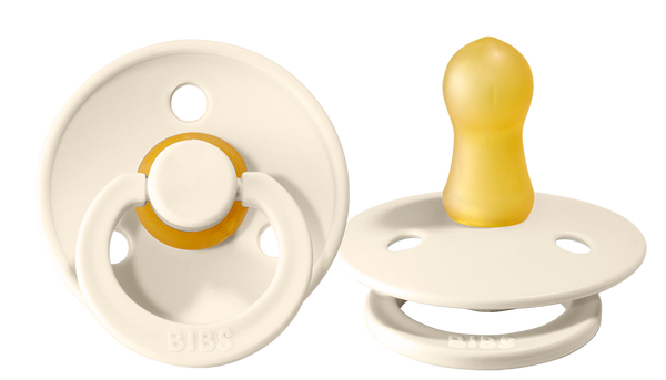 Pacifier Baby Ivory 0-6 months (2 pieces)