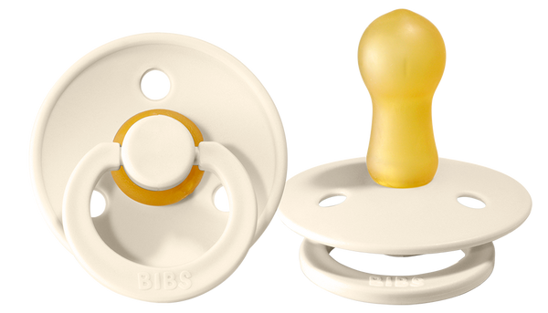 Pacifier Baby Ivory 6-18 months (2 pieces)