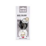 Bibs Schnuller 2er Pack Black White Grösse 1 0-6 Monate bei Yay Kids