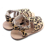 Bohemia's Closet Kinder Sandalen Leder Animal Print bei Yay Kids