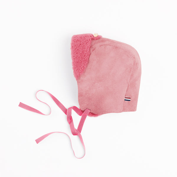 Toasties Paris Baby Lammfellmütze Bonnet Pink bei Yay Kids