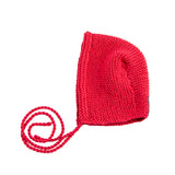 Baby Knit Bonnet Cranberry von Yay Kids