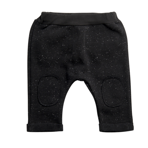 Baby Trainer Hose Speckle Schwarz Yay Kids