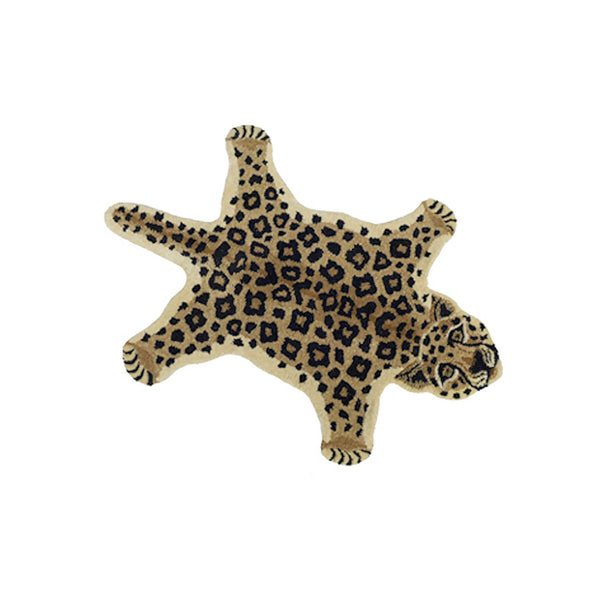 Doing Goods Loony Leopard Rug Small Teppich Kinderzimmer bei Yay Kids