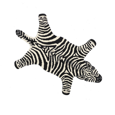 Doing Goods Chubby Zebra Rug Small Teppich Kinderzimmer bei Yay Kids