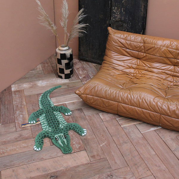 Doing Goods Coolio Crocodile Rug Small Kinderzimmer Teppich bei Yay Kids