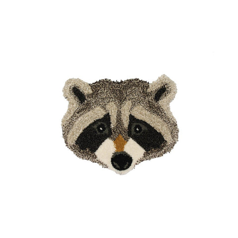 Doing Goods Rocky Racoon Rug Deko Teppich bei Yay Kids