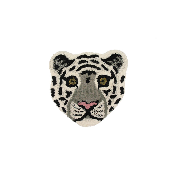 Doing Goods Snowy Tiger Cub Rug Deko Teppich bei Yay Kids