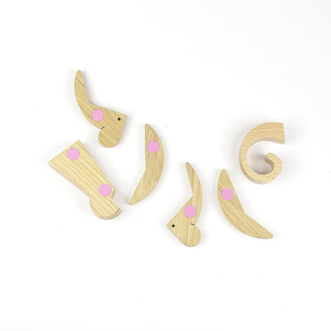 Archabits Esnaf Magnetisches Holzpuzzle Affe bei Yay Kids