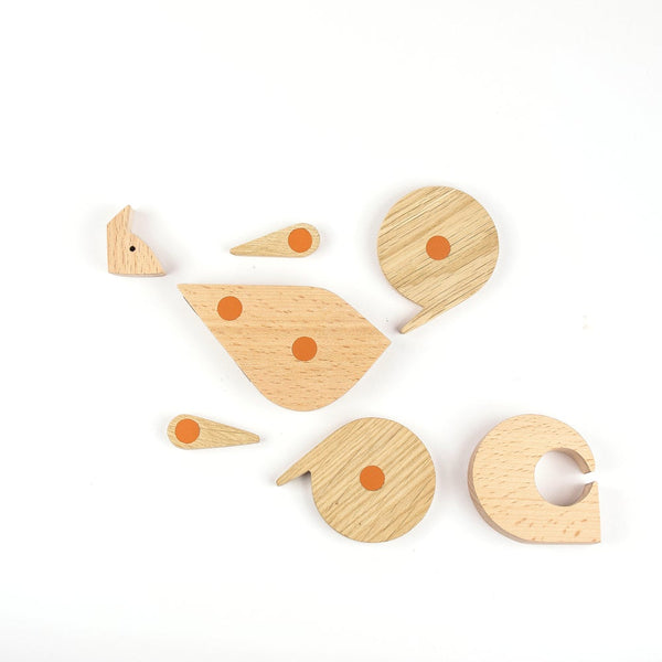 Wooden Puzzle Squirrel