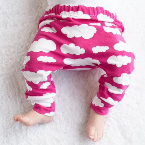 Fred and Noah Leggings Cloud Pink Yay Kids