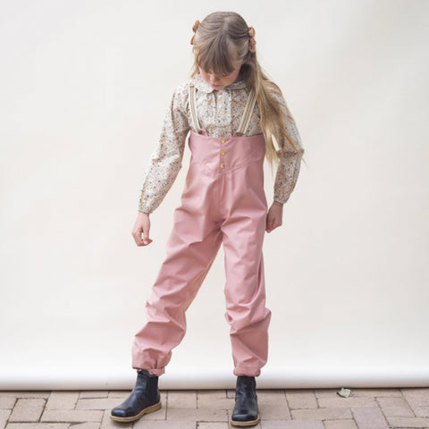Faire Child Recycelte Kinder Regenhose Rosa bei Yay Kids
