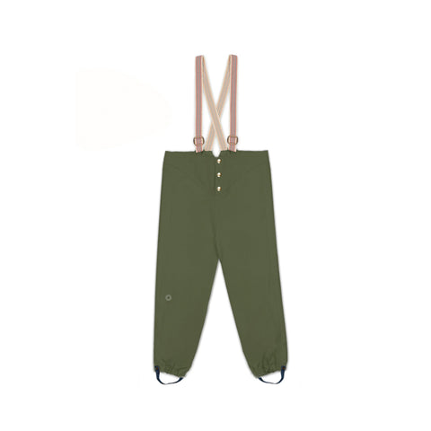 Faire Child Recycelte Kinder Regenhose Spruce bei Yay Kids