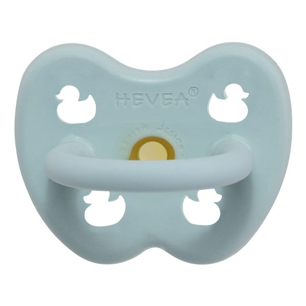 Pacifier Natural Rubber Baby Blue Orthodontic 0-3 Months