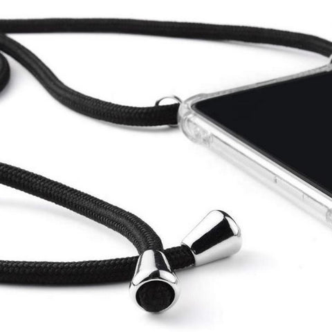 iPhone Necklace Handy Cover mit Band Schwarz bei Yay Kids