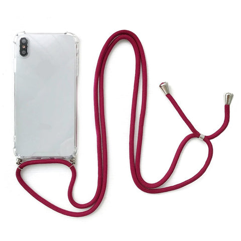 iPhone Necklace Handykette Bordeaux bei Yay Kids