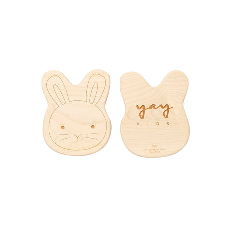 Little Sapling Toys Beissspielzeug Wood Hase Yay Kids