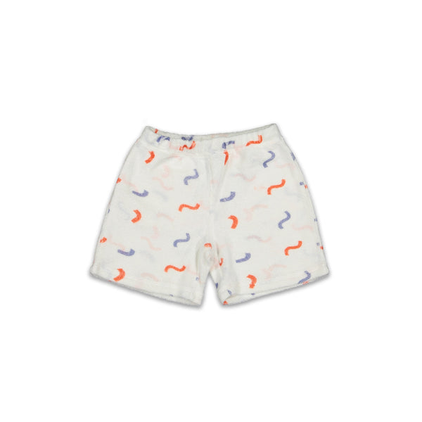 Hey Soleil Kinder Shorts Weiss Frottee exklusiv bei Yay Kids