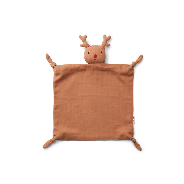 Liewood Baby Kuscheltuch Rentier tuscany rose bei Yay Kids