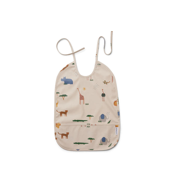 Liewood Kinder Latz Lai Safari Sandy Mix bei Yay Kids