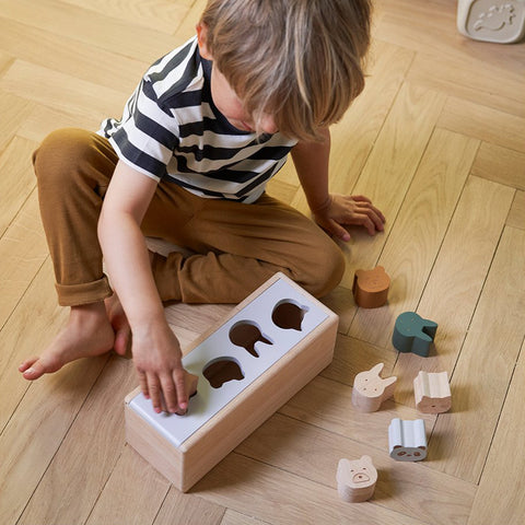 Liewood Baby Holz Puzzle Box Midas Classic Mix bei Yay Kids