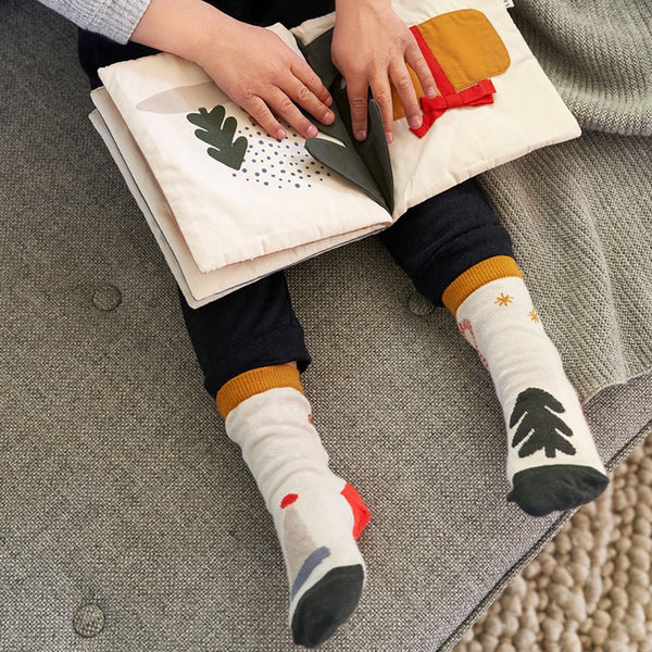 Liewood Kinder Socken Silas Hunter Green Holiday bei Yay Kids