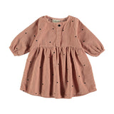 My Little Cozmo Baby Cord Kleid Vintage Pink bei Yay Kids