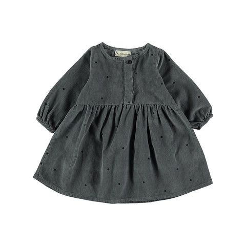 My Little Cozmo Baby Kleid Manchester Steel Dots bei Yay Kids